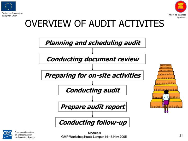 OVERVIEW OF AUDIT ACTIVITES