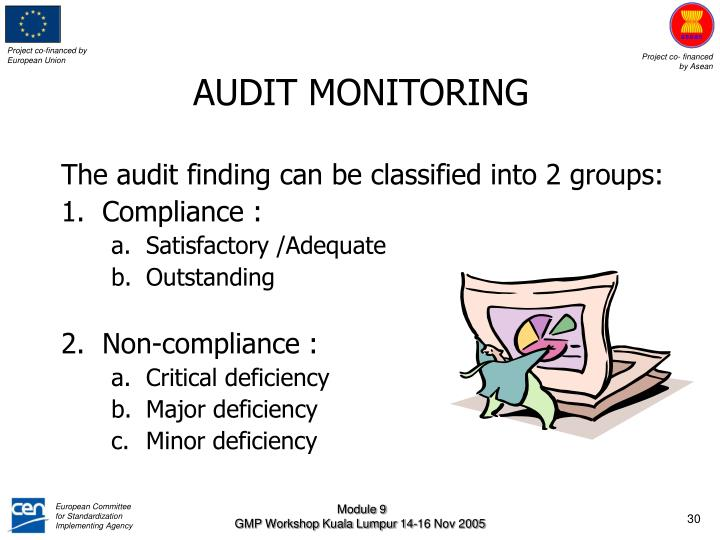 AUDIT MONITORING