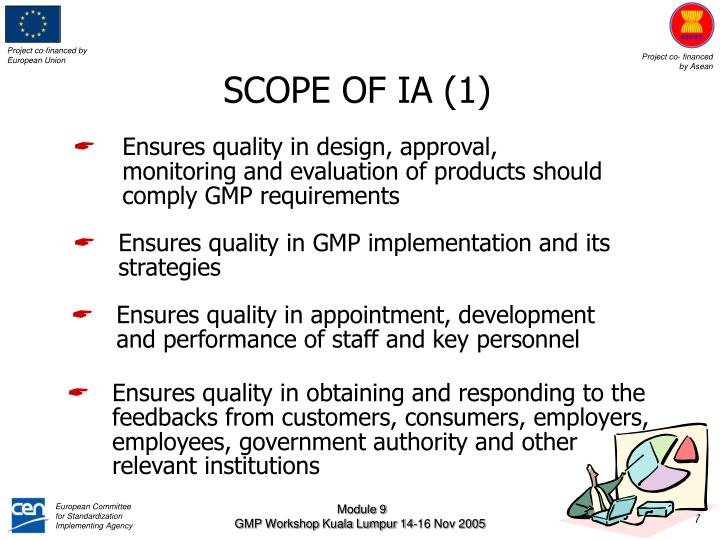 SCOPE OF IA (1)