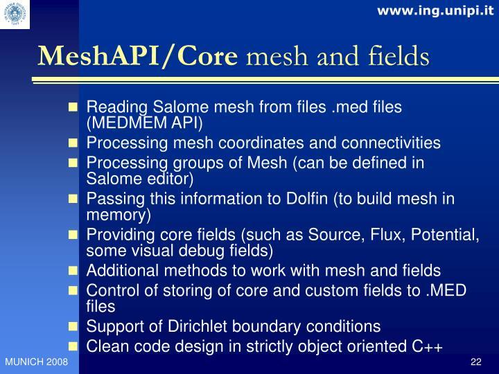 MeshAPI/Core