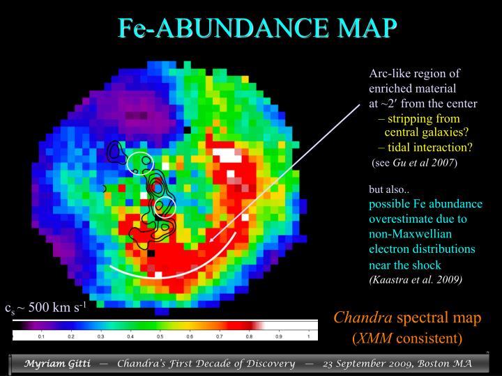 Fe-ABUNDANCE MAP