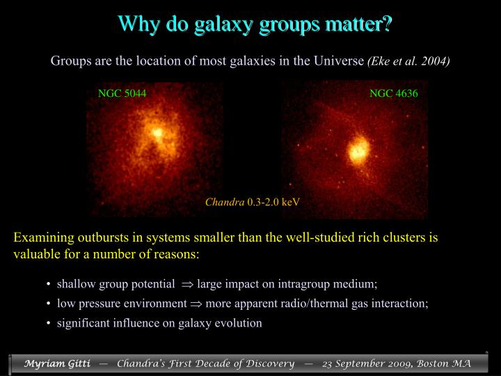 Why do galaxy groups matter?