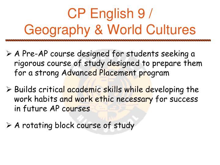 CP English 9 /