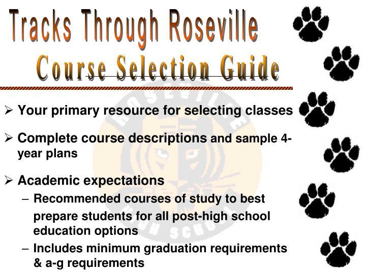 Tracks Through Roseville
