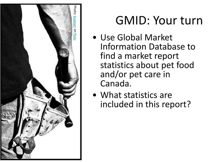 GMID: Your turn
