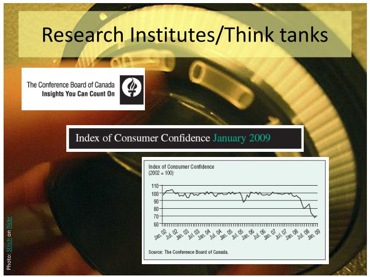 Research Institutes/Think tanks