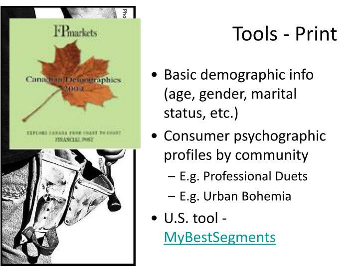 Tools - Print