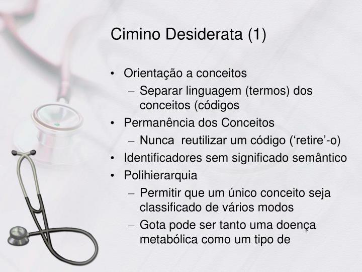 Cimino Desiderata (1)