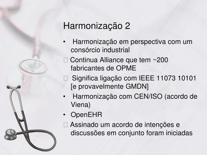 Harmonização 2
