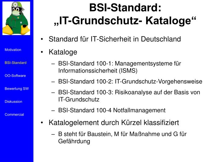 BSI-Standard: