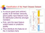 classification of the heart disease dataset1