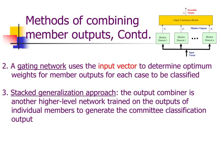 Methods of combining