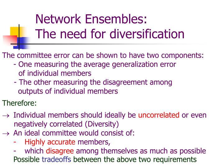 Network Ensembles:
