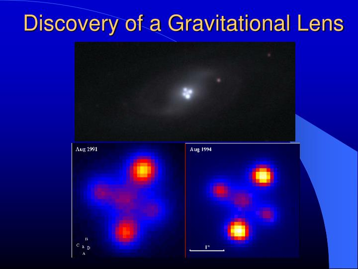 Discovery of a Gravitational Lens