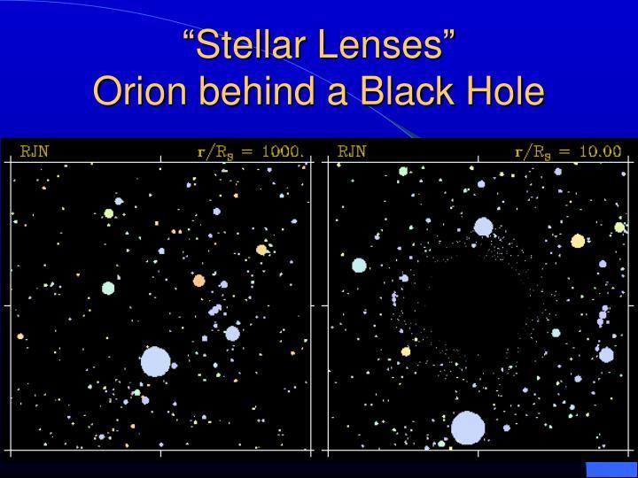 """Stellar Lenses"""