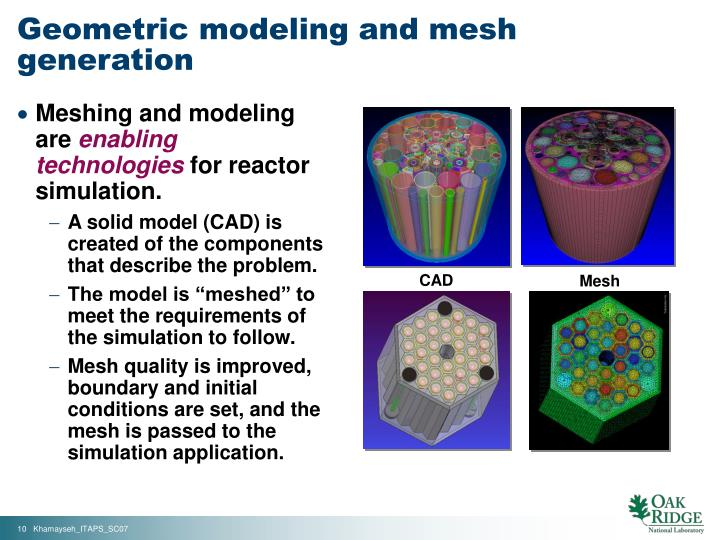 Geometric modeling and mesh generation