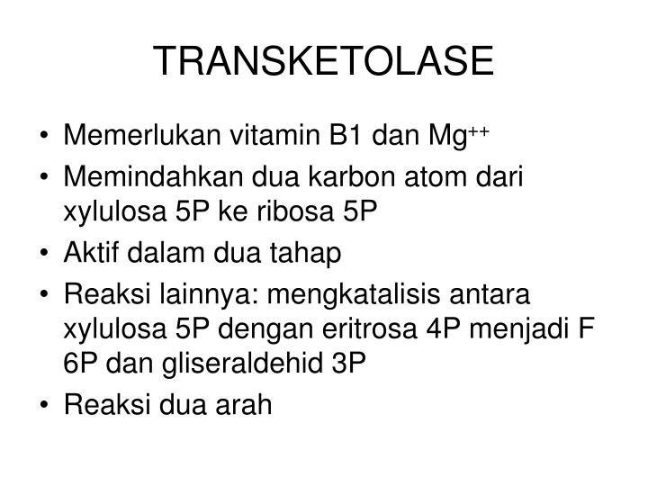 TRANSKETOLASE