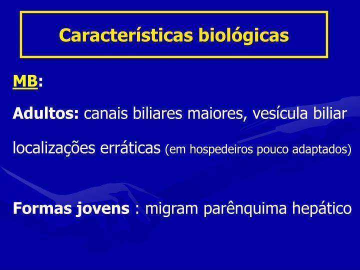 Características biológicas