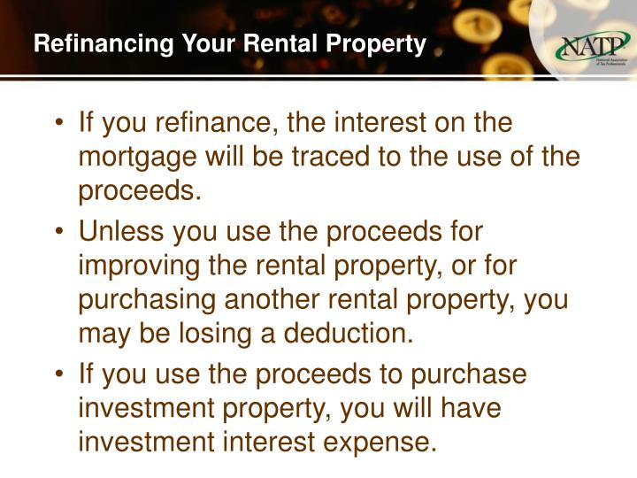 Refinancing Your Rental Property