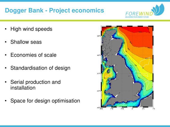 Dogger Bank - Project economics