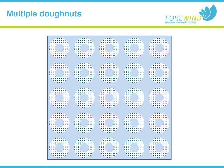 Multiple doughnuts