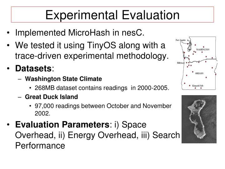 Experimental Evaluation