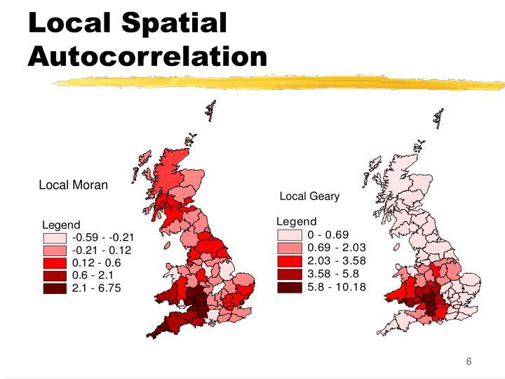 Local Spatial Autocorrelation