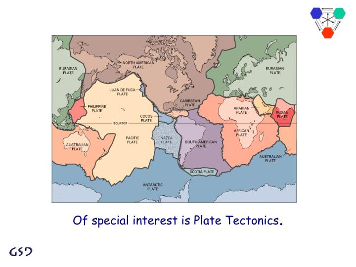 Of special interest is Plate Tectonics