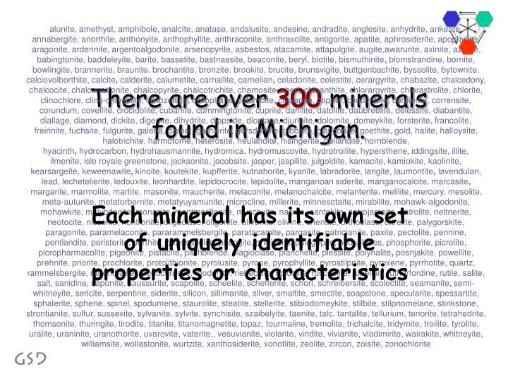 alunite, amethyst, amphibole, analcite, anatase, andalusite, andesine, andradite, anglesite, anhydrite, ankerite, annabergite, anorthite, anthonyite, anthophyllite, anthraconite, anthraxolite, antigorite, apatite, aphrosiderite, apophyllite, aragonite, ardennite, argentoalgodonite, arsenopyrite, asbestos, atacamite, attapulgite, augite,awarurite, axinite, azurite, babingtonite, baddeleyite, barite, bassetite, bastnaesite, beaconite, beryl, biotite, bismuthinite