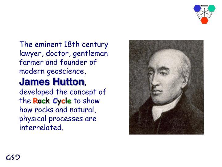 The eminent 18th century lawyer, doctor, gentleman farmer