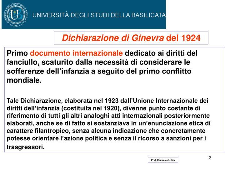 Dichiarazione di Ginevra