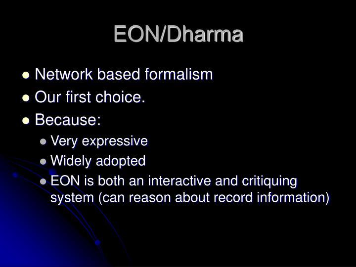 EON/Dharma