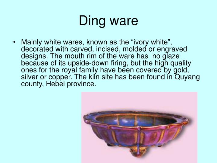 Ding ware