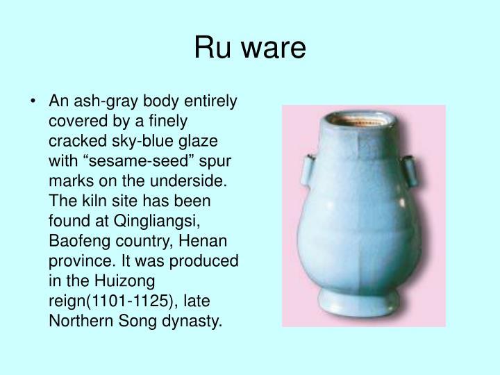 Ru ware
