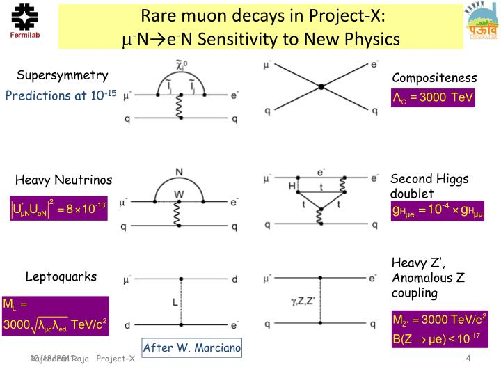 Rare muon decays in Project-X: