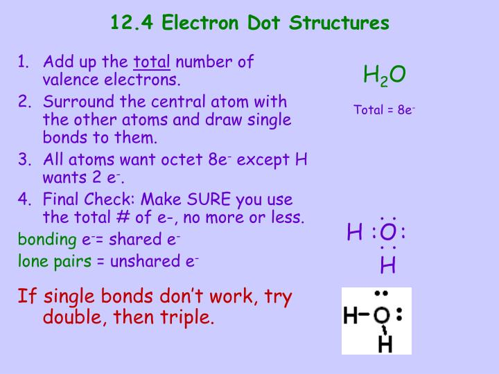 12.4 Electron Dot Structures