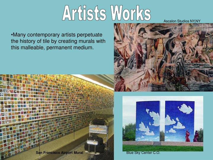 Artists Works