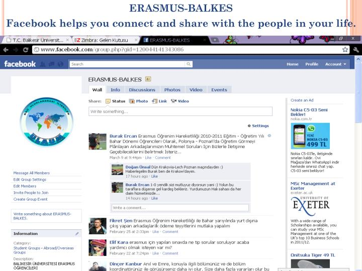 ERASMUS-BALKES