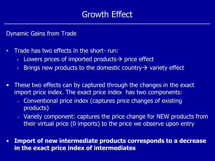 Growth Effect