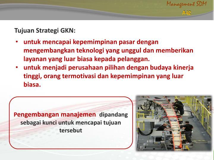 Tujuan Strategi GKN