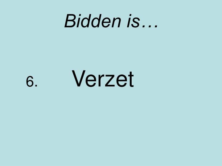 Bidden is…