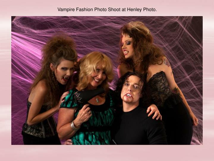 Vampire Fashion Photo Shoot at Henley Photo.