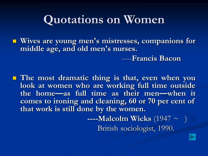 Quotations on Women