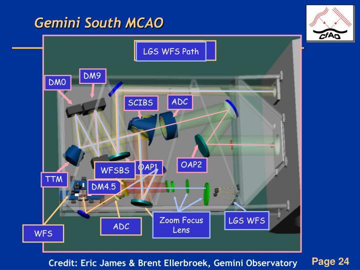 Gemini South MCAO