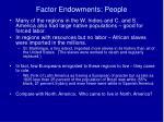 factor endowments people