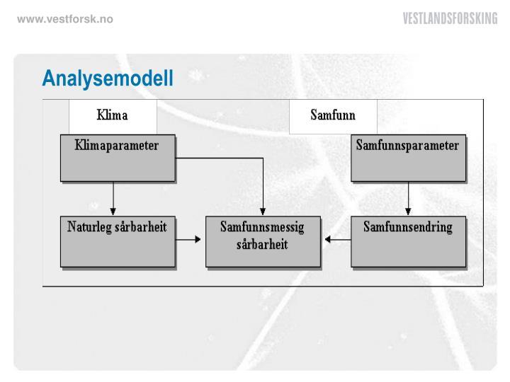 Analysemodell