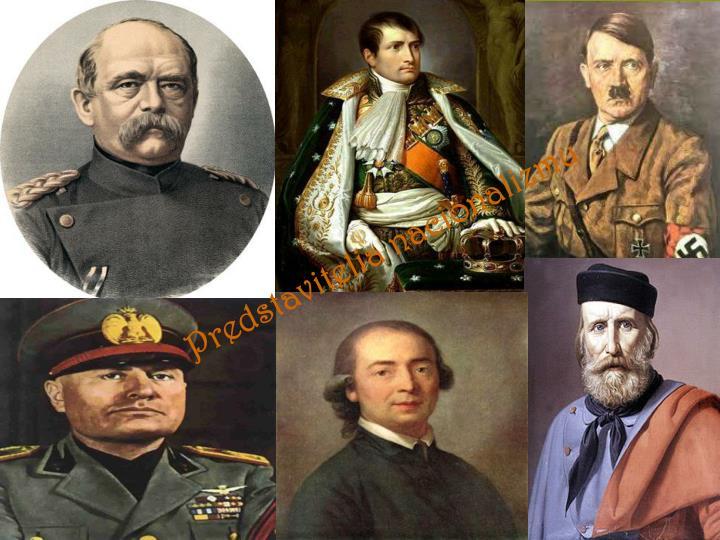 Predstavitelia nacionalizmu