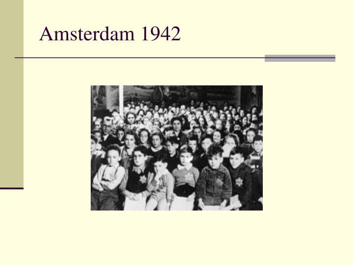 Amsterdam 1942