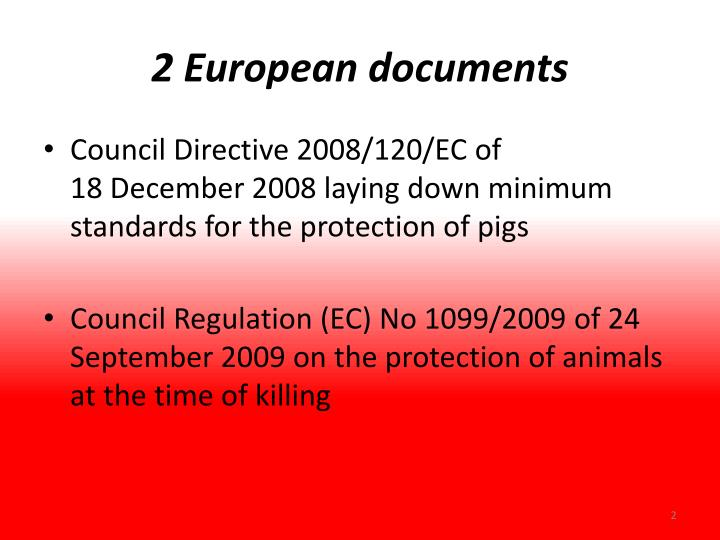 2 european documents