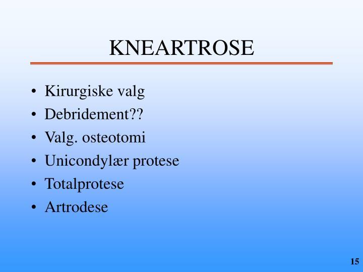 KNEARTROSE